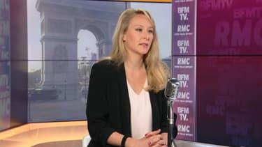 Marion Maréchal, directrice de l'Issep de Lyon, le 29 avril 2021