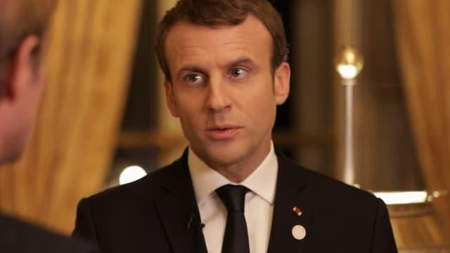 Emmanuel Macron, le 17 décembre