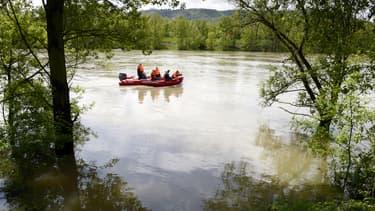 La rivière dans laquelle est tombé Yasin, avant d'être emporté par le courant.