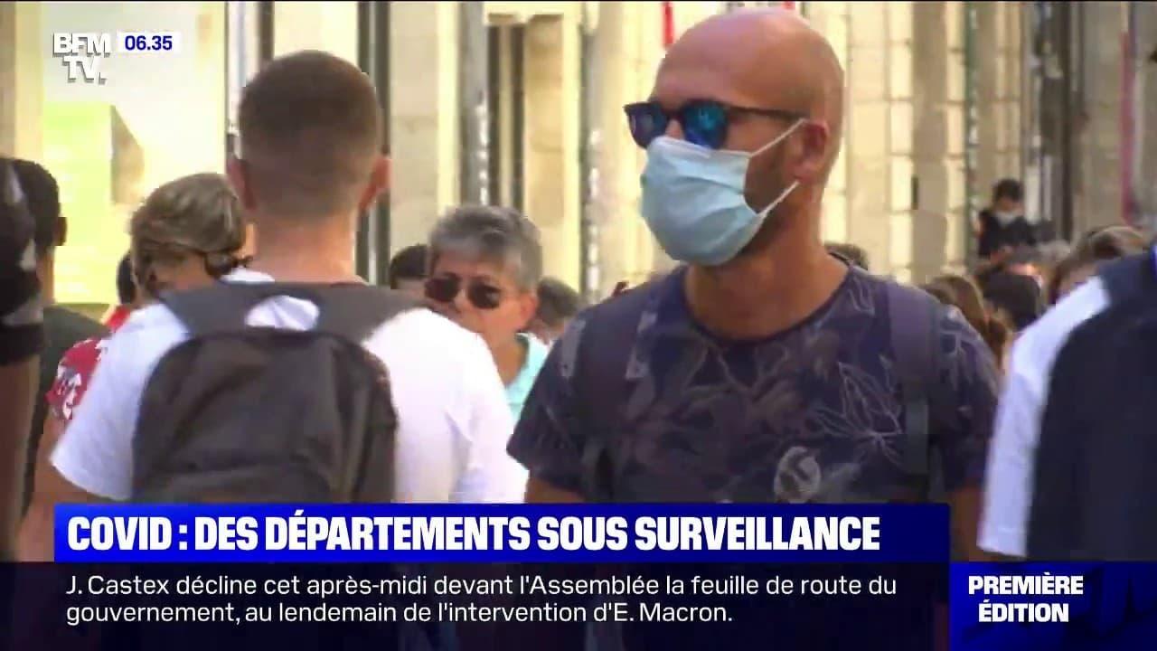 Covid: des départements sous surveillance