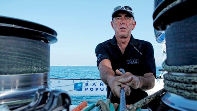 Loïc Peyron est le recordman des participations à la Route du Rhum (7).