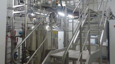 Fermenteur industriel d'isobutène.