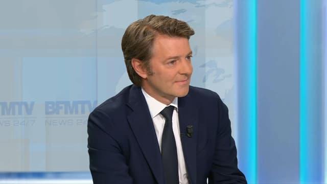 François Baroin, sur BFMTV vendredi 12 mai.