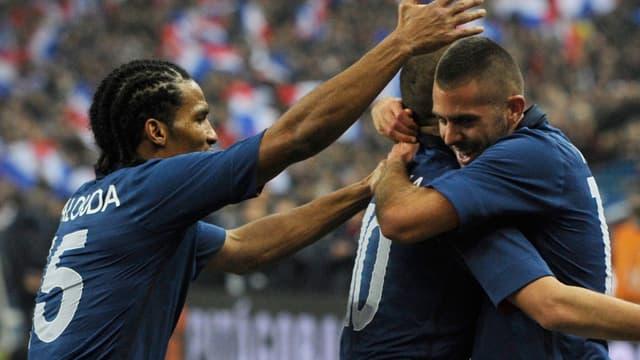 Jérémy Ménez, passeur décisif sur le but de Benzema