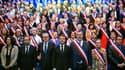Emmanuel Macron aux Assises des maires bretons, le 3 avril 2019