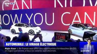 Cette année, le salon de l'automobile de Francfort est placé sous le signe de l'électrique