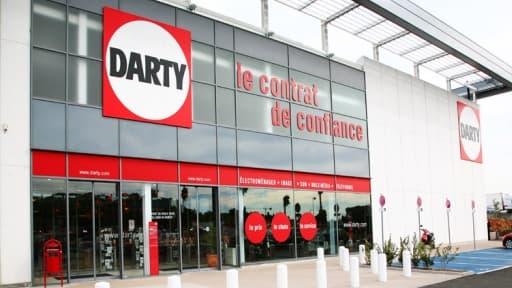 Les ventes de Darty en France ont reculé de 5,8 % en un an.