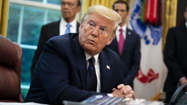 Donald Trump à la Maison-Blanche le 28 mai 2020.