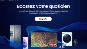 Samsung : le top des offres à saisir pendant quelques jours seulement !