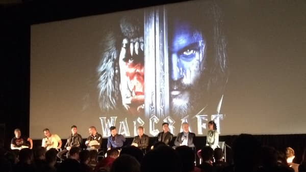 Une partie de l'équipe du film Warcraft était présente à la BlizzCon 2015 pour présenter la bande annonce officielle.