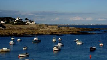 Le corps a été retrouvé près de la cale de la plage du Perello à Ploemeur (Morbihan)