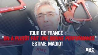 """Tour de France : """"On a plutôt fait une bonne performance"""" estime Madiot"""