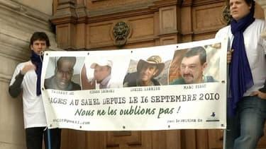 De nombreux rassemblements de soutien aux familles des otages se sont tenus ce samedi.