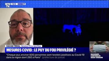 """Puy du Fou: pour Rachid Temal, """"il faut que monsieur Castex dise que la règle doit être la même pour tous"""""""