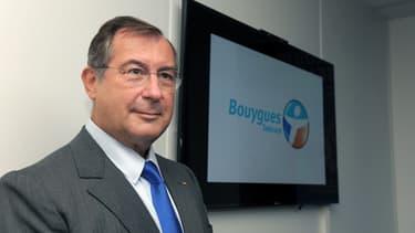 Martin Bouygues est le PDG du groupe Bouygues, maison-mère de Bouygues Telecom,  depuis 1989.