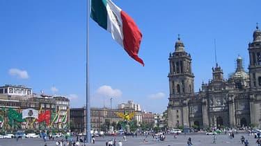 Un séisme de magnitude a frappé la ville de Mexico, vendredi.