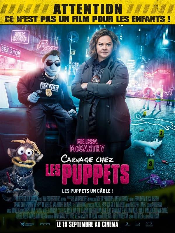 Affiche de Carnage chez les Puppets