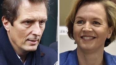 Jérôme Chartier et Virginie Calmels.