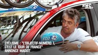 """Cyclisme : """"L'objectif numéro 1, c'est le Tour de France"""" annonce Madiot"""