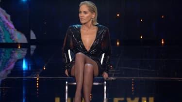 Sharon Stone sur la scène des GQ Awards