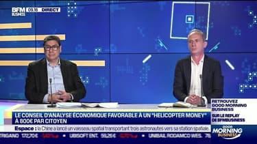 """Les Experts : Le Conseil d'analyse économique favorable à un """"helicopter money"""" à 800 € par citoyen - 17/06"""