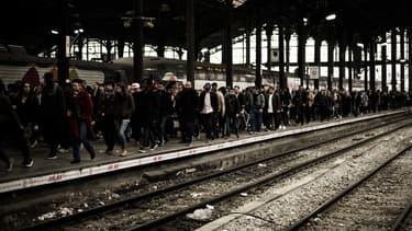 """Selon un sondage Ifop pour le JDD, une forte majorité (61%) des Français souhaite que """"le gouvernement aille jusqu'au bout de la réforme ferroviaire."""