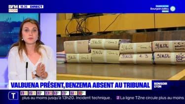 Valbuena présent, Benzema absent au tribunal