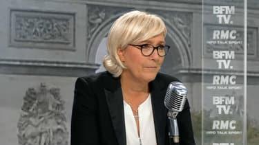 """""""Le FN n'est pas une secte, on peut en sortir"""", lance Marine Le Pen"""