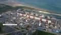 Centrale de Gravelines, vue aérienne