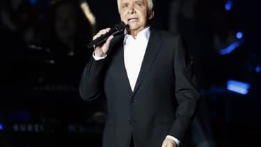 Michel Sardou au Palais Omnisport de Bercy le 12 décembre 2012.