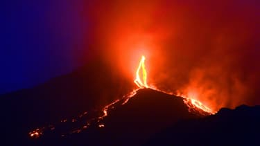 Image d'illustration de l'Etna en 2014.