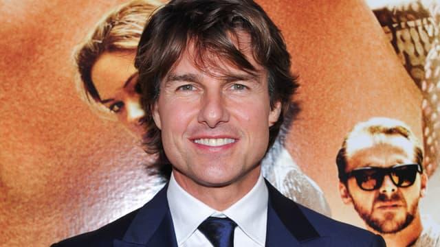 """Tom Cruise lors de l'avant-première de """"Mission: Impossible Rogue Nation"""" au Canada."""