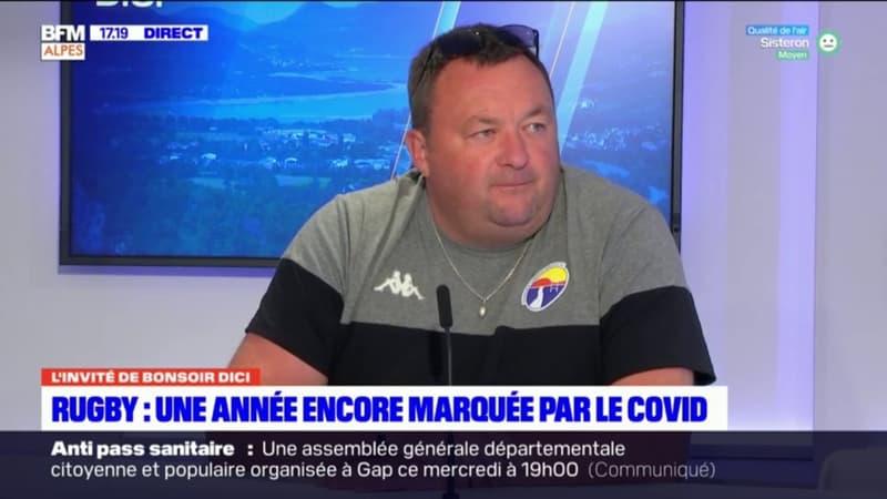 """Rugby: Gaëtan Girard, président du Durance Lubéron Verdon XV, dresse le """"constat"""" de cette année marquée par la crise sanitaire"""
