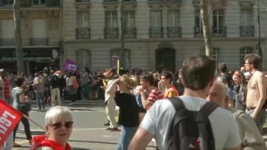 La manifestation parisienne a été émaillée de quelques heurts.