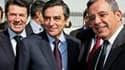 François Fillon a effectué jeudi une visite éclair à Marseille pour mobiliser les abstentionnistes et soutenir la liste UMP de Thierry Mariani (à droite) en Provence-Alpes-Côte d'Azur, qui se retrouve en ballottage défavorable avant le second tour des rég