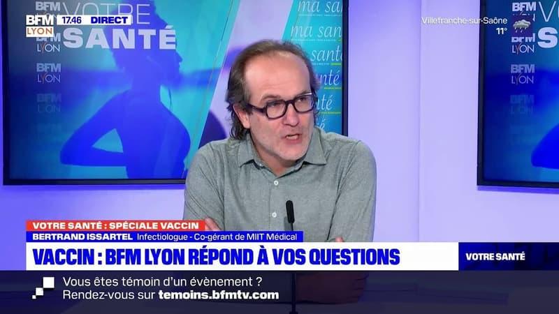 Votre Santé Lyon, le vrai du faux du vaccin avec Bertrand Issartel, infectiologue