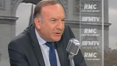 Pierre Gattaz était l'invité de BFMTV et RMC jeudi 22 octobre.
