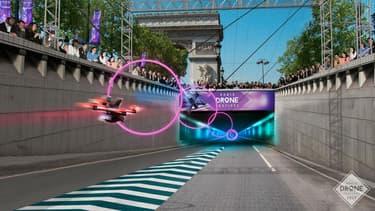 42 pilotes de drone sont attendus dimanche pour une compétition sur les Champs-Elysées.