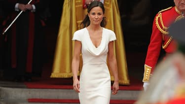 Pippa Middleton lors du mariage de Kate et William le 29 avril 2011