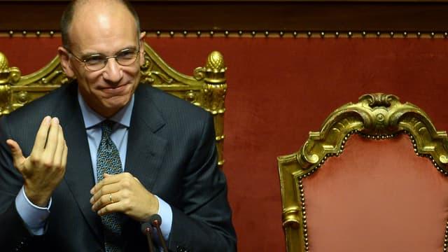Le chef du gouvernement italien, Enrico Letta.