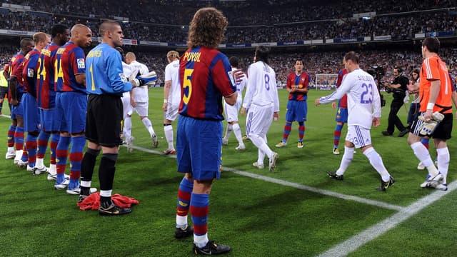"""Le """"pasillo"""" du Barça en 2008"""
