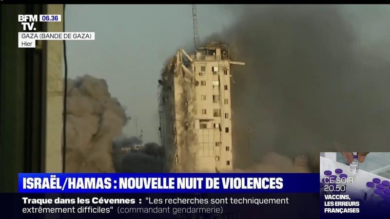 Nouvelle nuit de violences entre Israël et le Hamas
