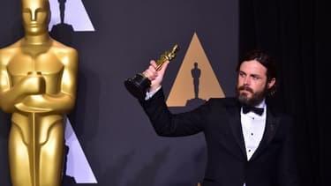 Casey Affleck aux Oscars en février 2017