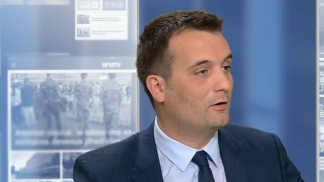 Florian Philippot, vice-président du Front national, sur BFMTV le 22 juillet 2016.