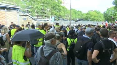 Un rassemblement de gilets jaunes ce samedi 24 août à Paris