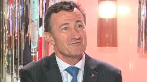 Bernard Charlès, ici lors de son intervention sur BFM Business, le 7 février dernier, est préoccupé par l'alourdissement de la fiscalité du capital