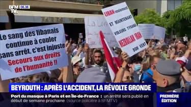 La colère des Libanais contre leur gouvernement après les explosions