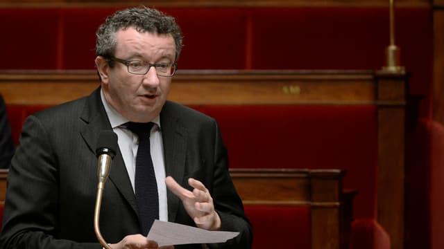Christian Paul, député de la Nièvre, à l'Assemblée nationale.