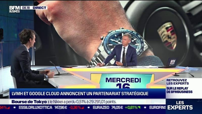 Frédéric Arnault (PDG de TAG Heuer): «La data est un sujet qui prend de plus en plus d'importance, même dans nos maisons de luxe»