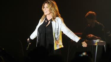 Shania Twain en concert à Orlando en 2017